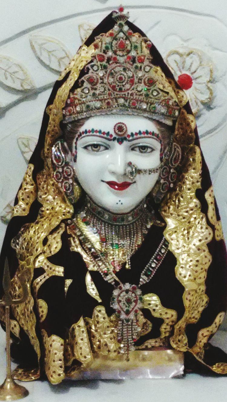 India Gujrat Palanpur Deesahighway Goddess Cheharmaa Brown Temple Divine Spiritual