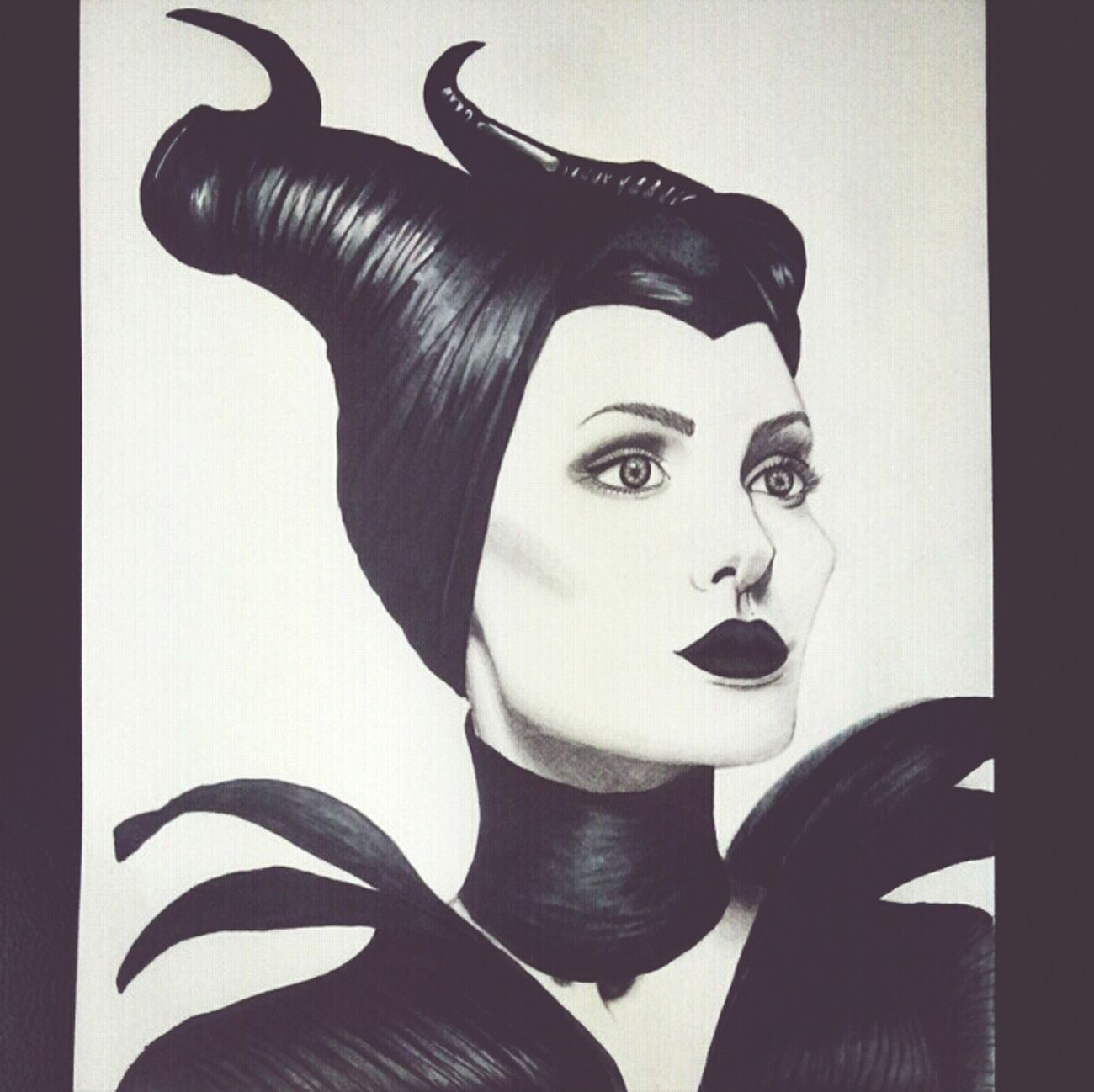 Maleficient Skets Art Gallery Walt Disney World