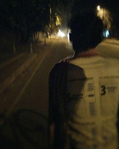 Whatever the path may be, I will always drop you home safely Rickshaw Ride Delhiite Delhidiaries Delhi Delhiuniversity Nighttime