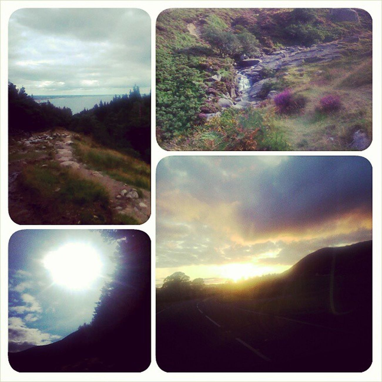 Lovely scenes from hiking slieve donard Hiking Nature Sunset Slievedonard Ireland