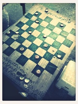 checkers in Bangkok by Sainiran