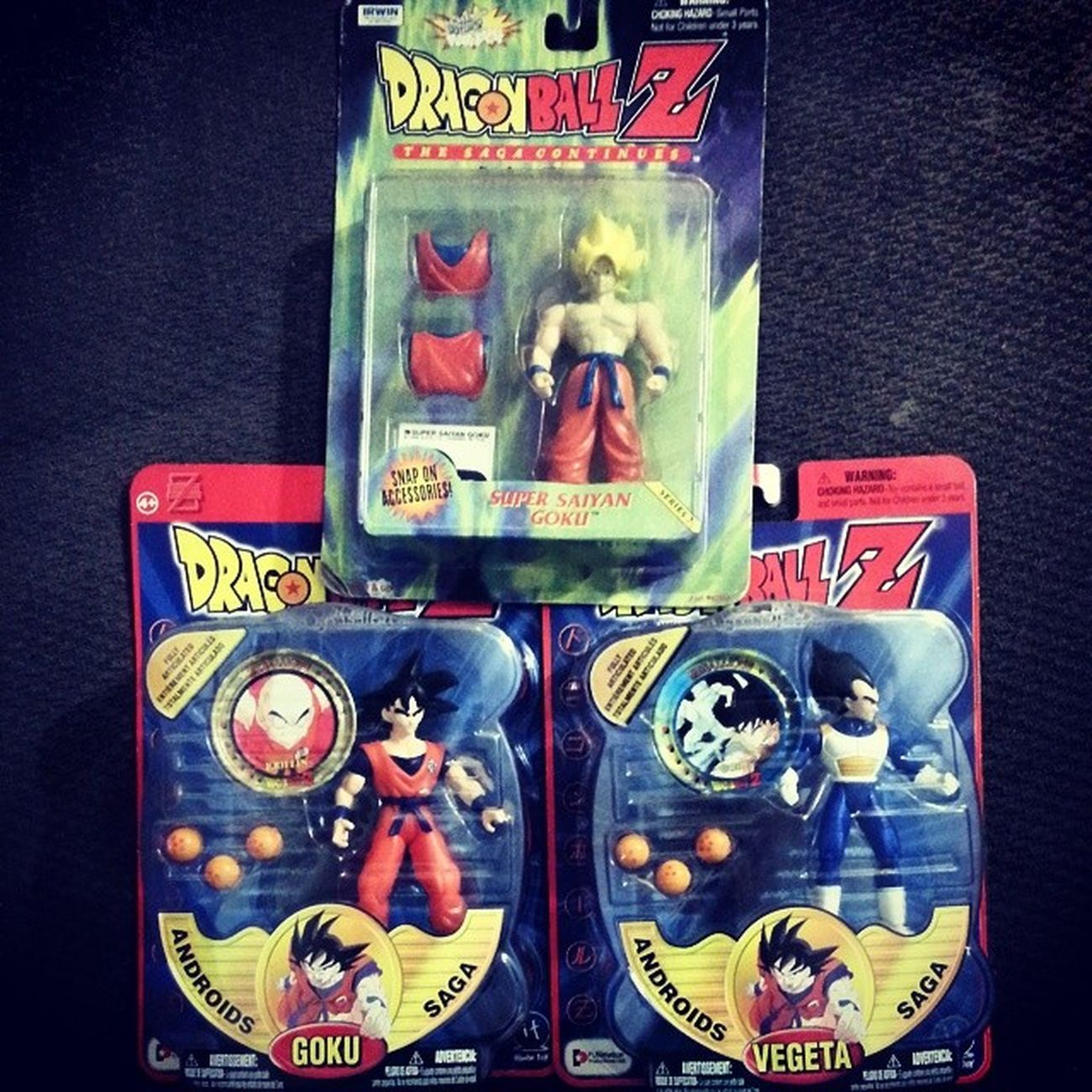 Dragonballz Vintage Goku Vegetta supersaiyangoku cartoonnetwork toddler birthday bigfour