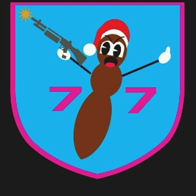 Platoon Badge Gun Army