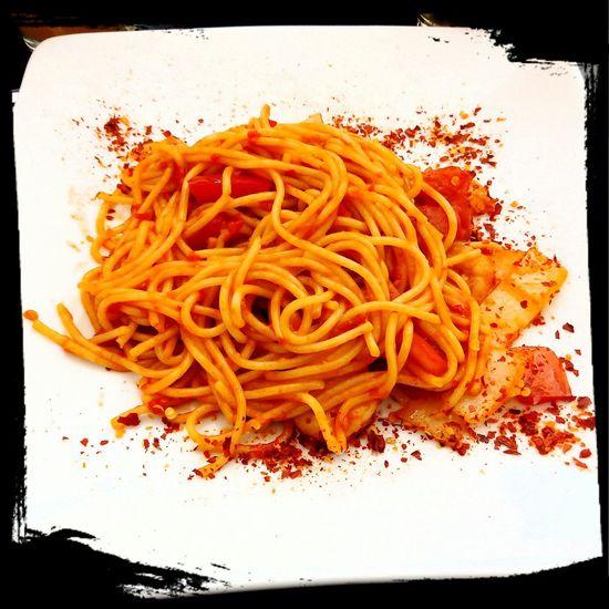 Extra Spicy tomato Spaghetti Italianfood SpaghettiParty🍝