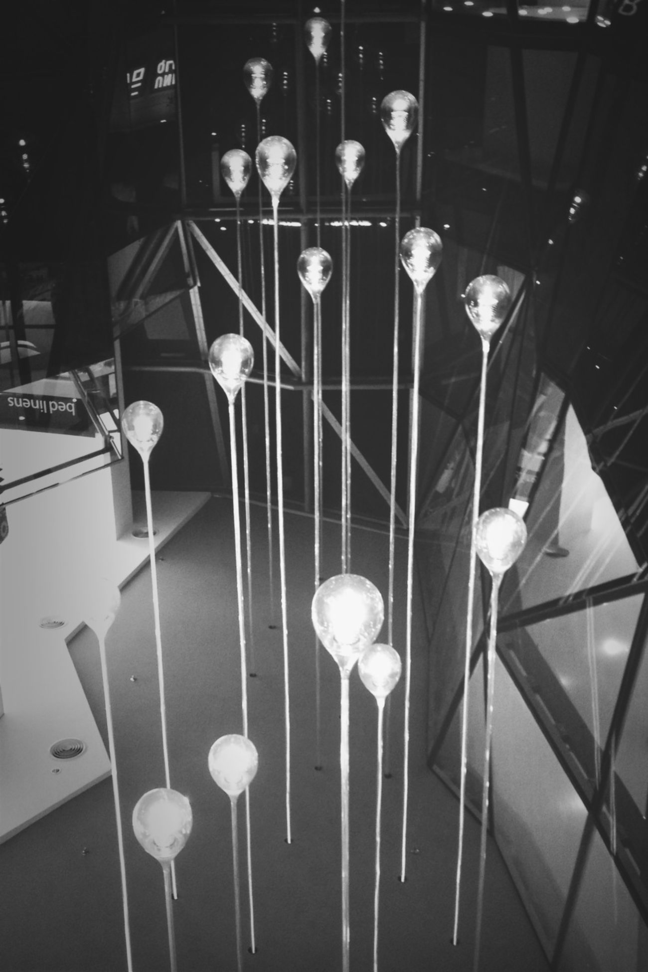 Lights Blackandwhite AMPt_community Glass Balloons