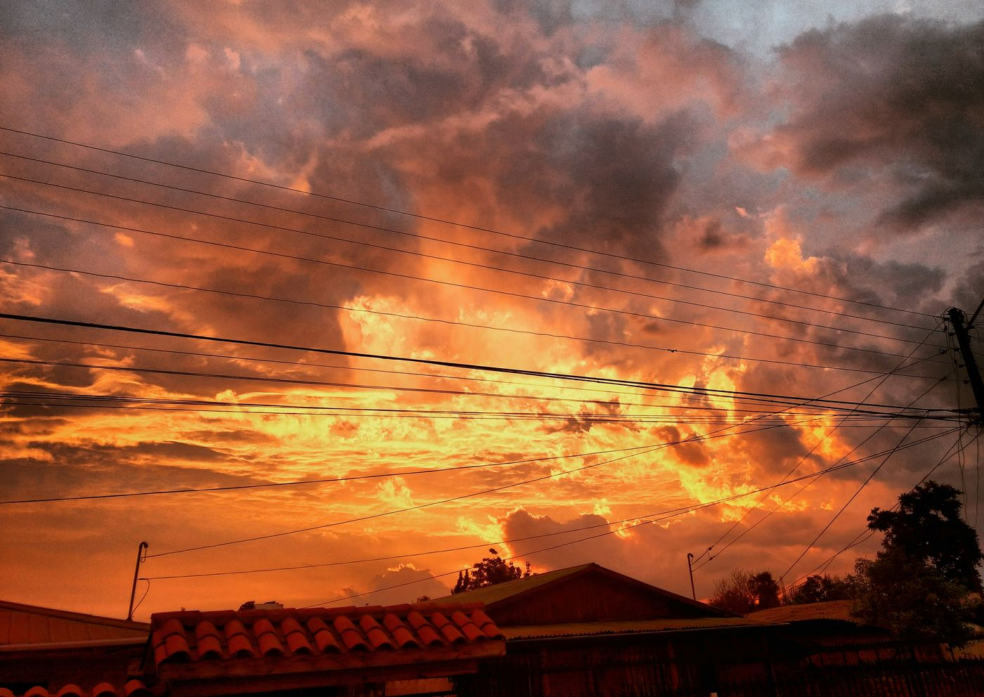 Sunset Orange Color Dramatic Sky Cloud - Sky Red Outdoors Sun Sky Beauty In Nature Landscape Nature Gold Colored Wonferful Sky ☁ Great Outdoors Beauty In Nature Cielo Fire In The Sky Captura Fuego En El Cielo Hermoso Atardecer