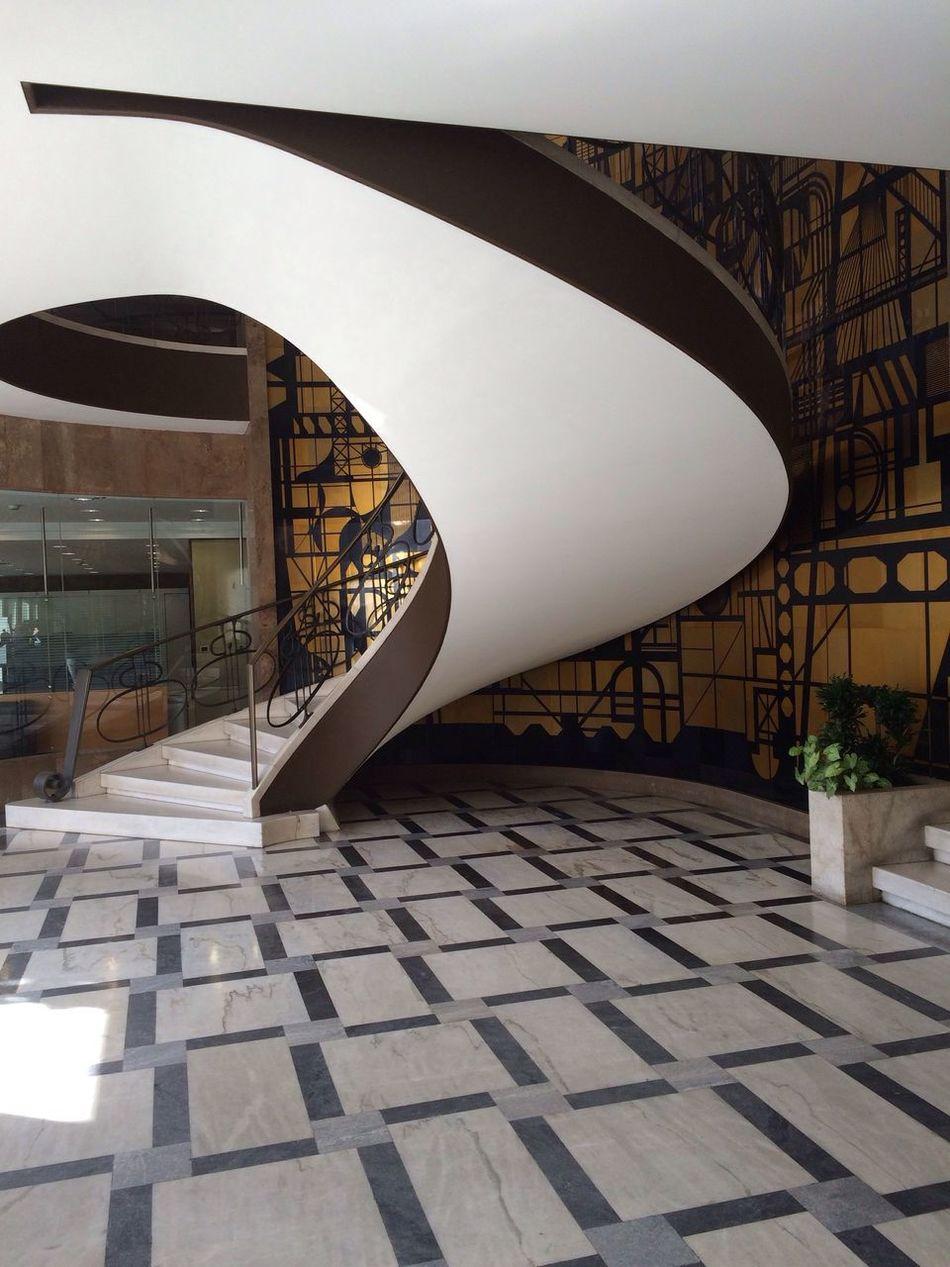 Architecture Stairs Roundstaircase Building Interior Art Nouveau CF Geometric Shapes Geometric Lisbon Lisboa Portugal
