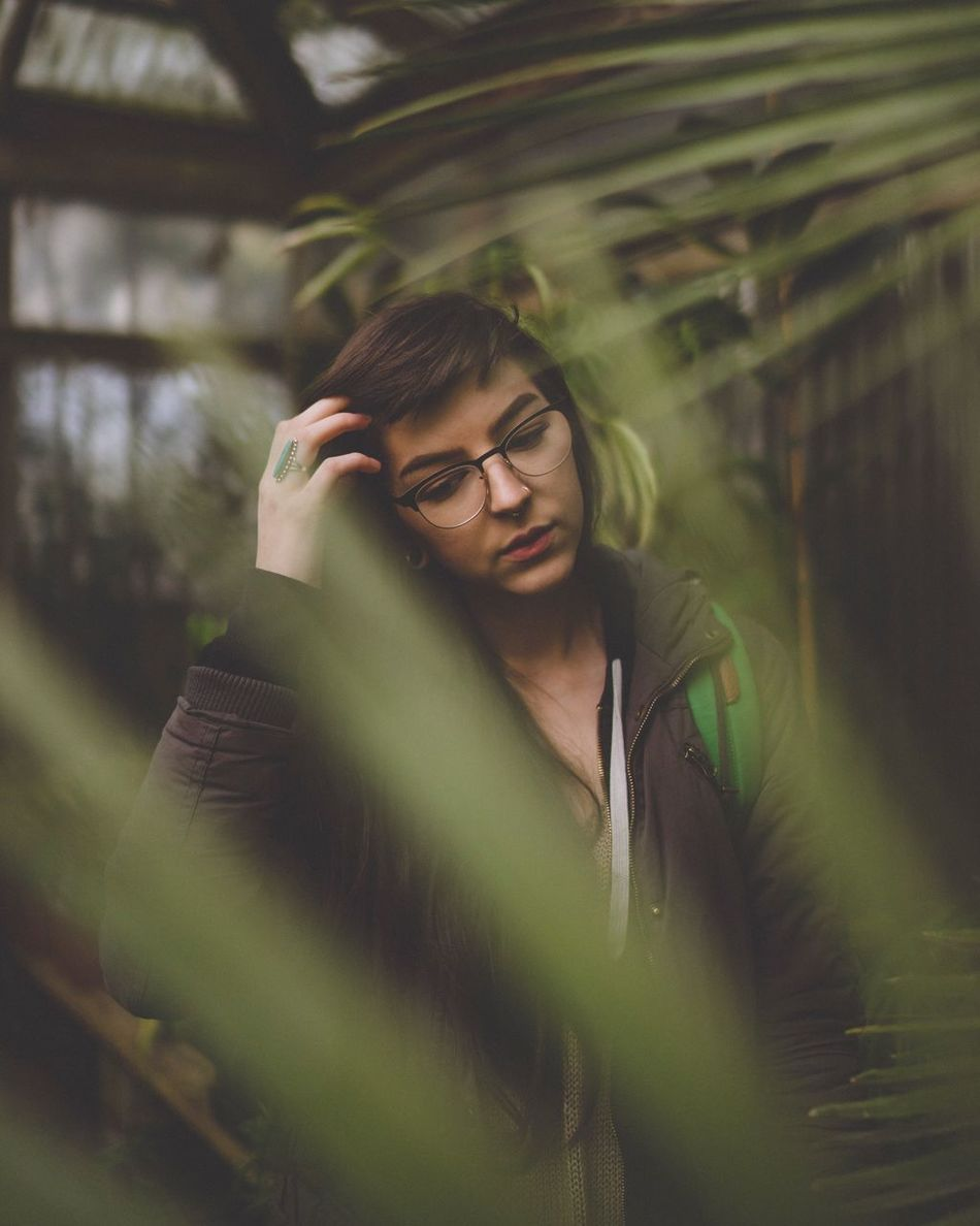 Having anxiety about not having anxiety Eyeglasses  Young Adult One Person Real People Young Women Front View Glasses Lifestyles Young Men Tensed Nature Outdoors Day Portland PNW VSCO Vscocam Vscogood Bleachmyfilm TCPM