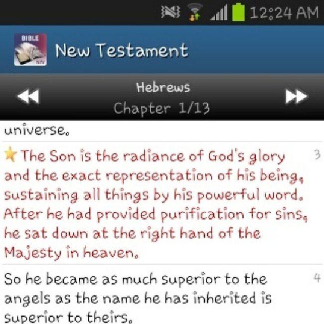 Hebrews 1:3 Instaverse Dt Jc