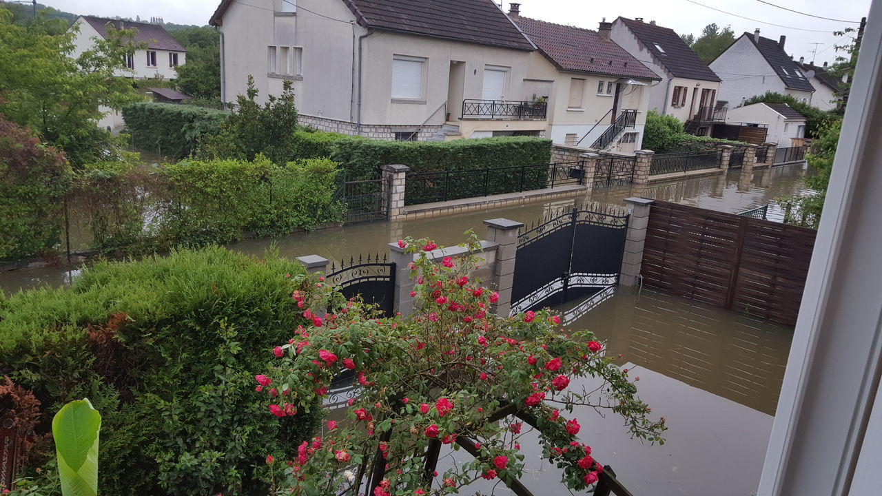 Feel the journey Inondation France Seine Et Marne loing Juin 2016 catastrophe naturelle