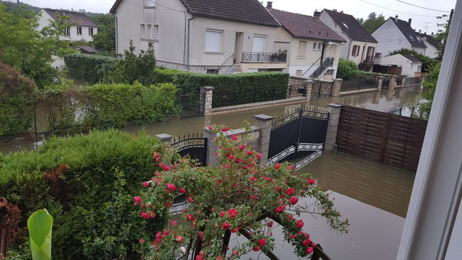 Feel the journey Inondation France Seine Et Marne loing Juin 2016 catastrophe naturelle