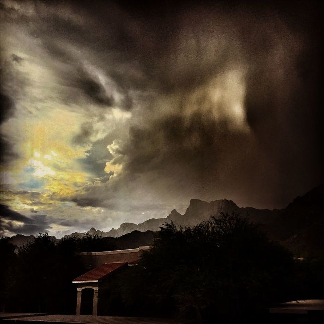 IPhoneography Sky Desert Color