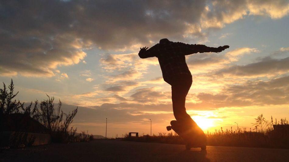 Landscape Skateboarding
