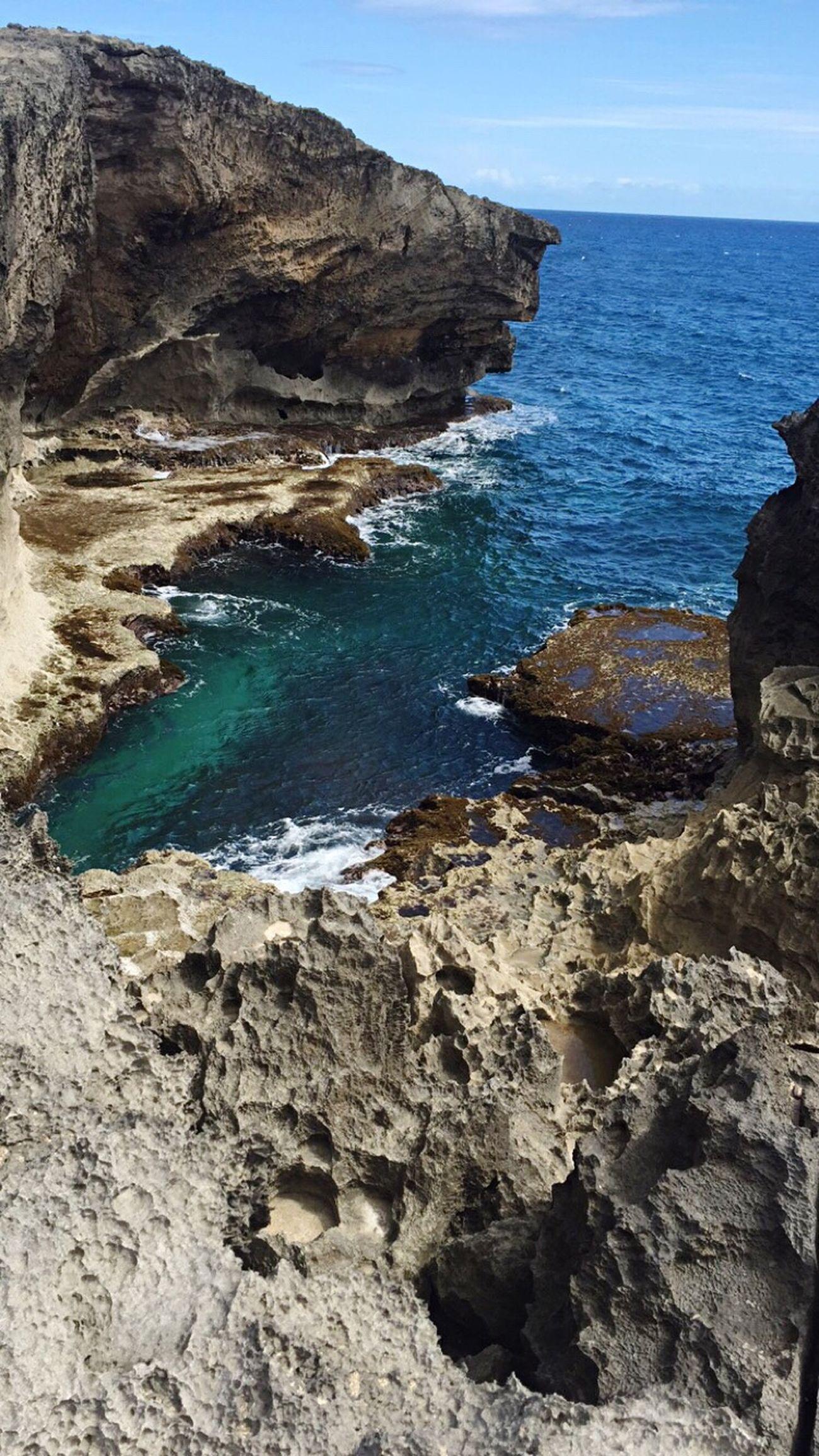 La Cueva Del Indio Cueva Del Indio Puertorro  Puerto Rico 100X35 Cielo Cielo Azul Playa Cueva Piedra