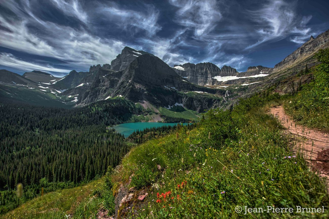 Grinnell Lake. Glacier National Park, Montana The Great Outdoors - 2015 EyeEm Awards