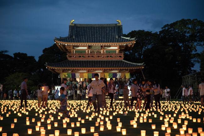 潮来市 の 万燈会 。初めて行きましたけど雰囲気よかったです♪ Beautiful Japan Japanese Culture EyeEmBestPics Lantern Beautiful Day