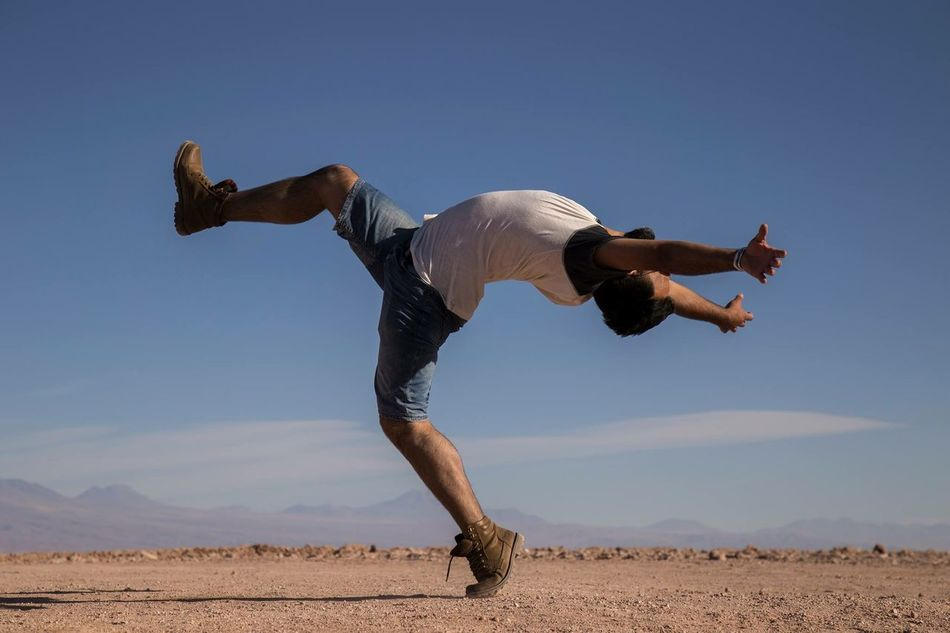 Beautiful stock photos of tanz, Arms Outstretched, Balance, Balancing, Casual Clothing