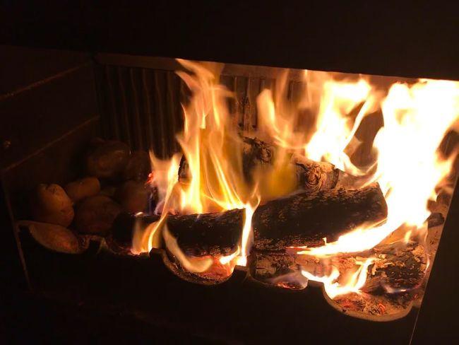 Fire Potatoes
