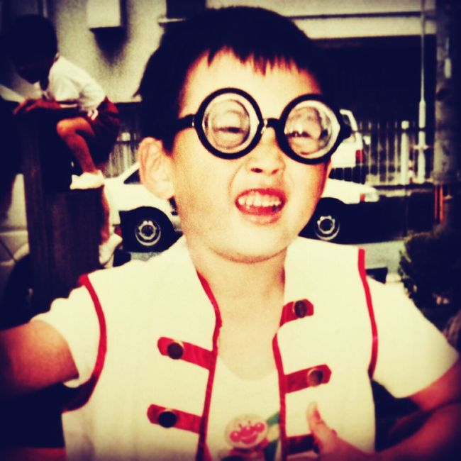 Glasses Portrait My Face Yonge Kindergarten Child 保育園 若かりし頃 A Long Time Ago That's Me