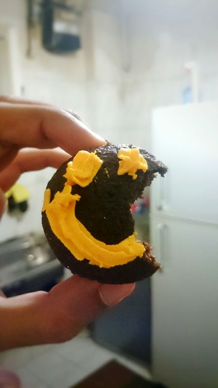 Cupcackes Smiling Face Food Kitchen My Year My View