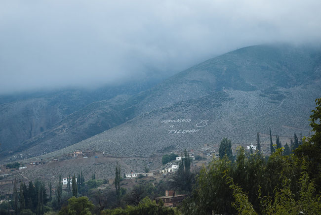Andes Argentina Cloud - Sky Fog Foggy Jujuy Province Mist Morning Mountain Mountains Tilcara, Jujuy. Tower Village Weather