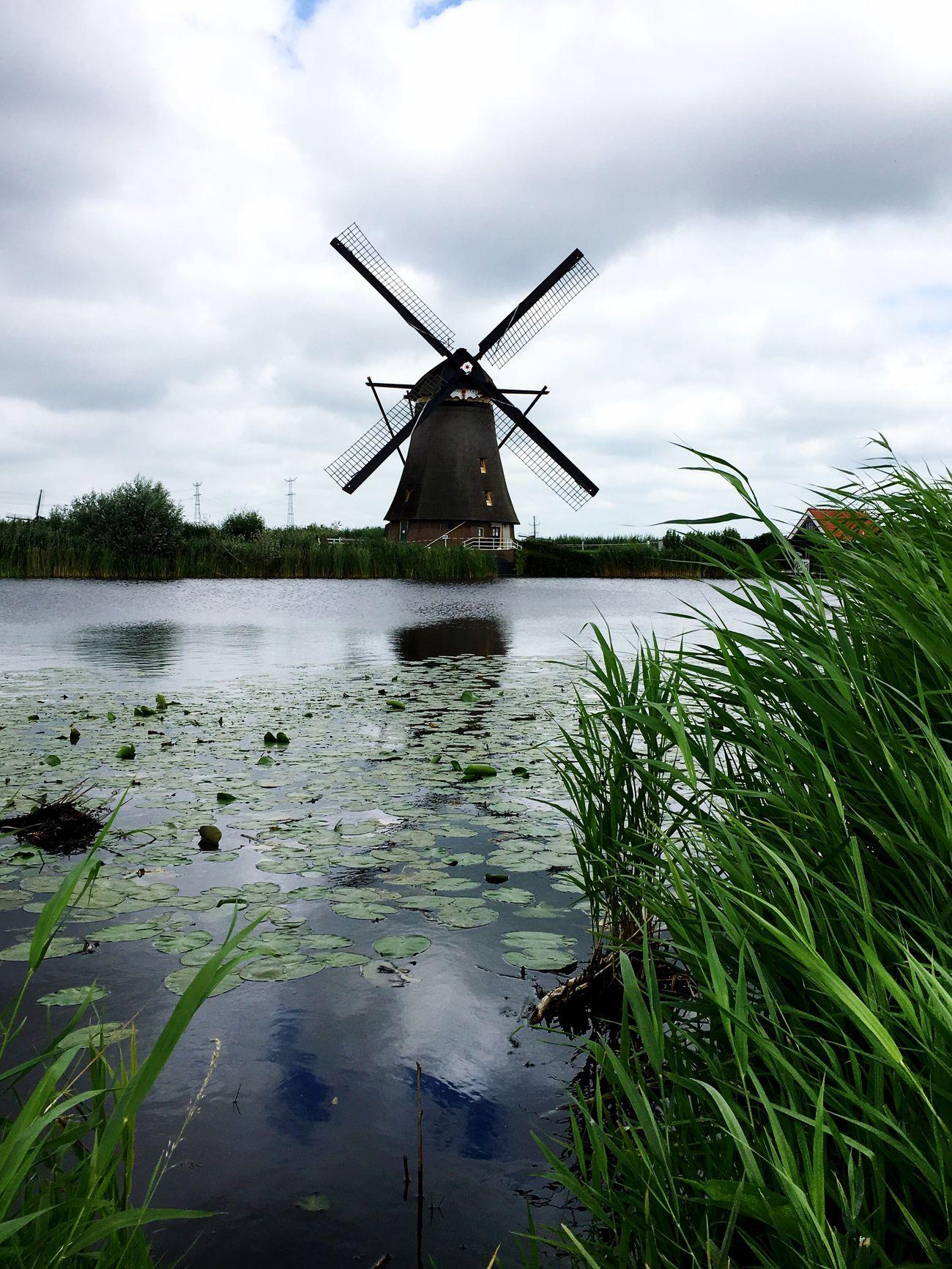 Holland Mill Holland Hello World Biketour Bikers 👫👸🏼🌷🏚🚲