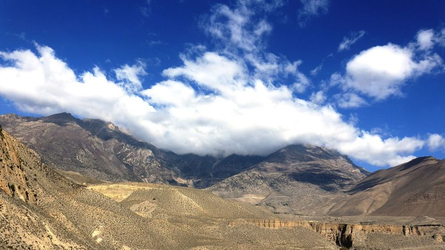 Mustang Jomsom Cold Desert Clear Sky Beautiful Sceneries