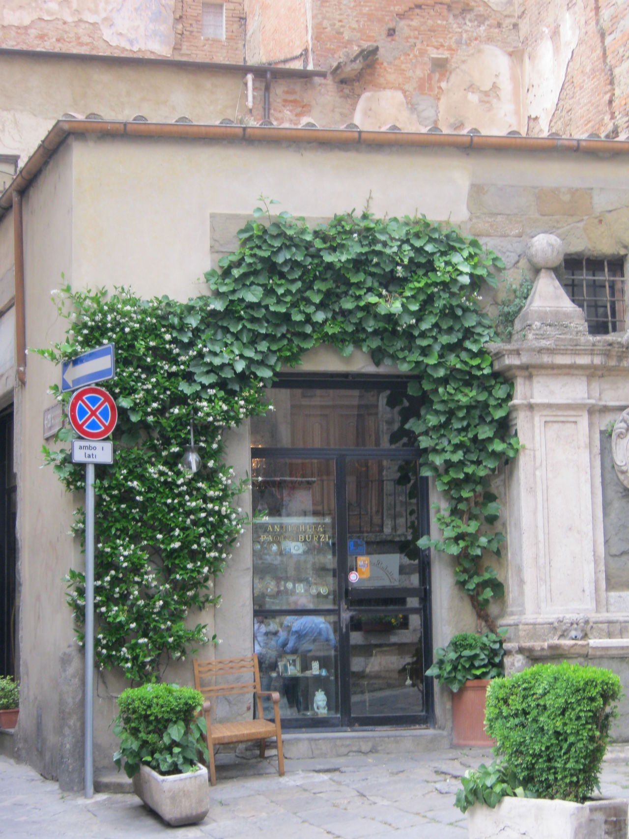 Arezzo, giugno 2011 Architecture Building Exterior Built Structure Day Door Ivy No People Outdoors
