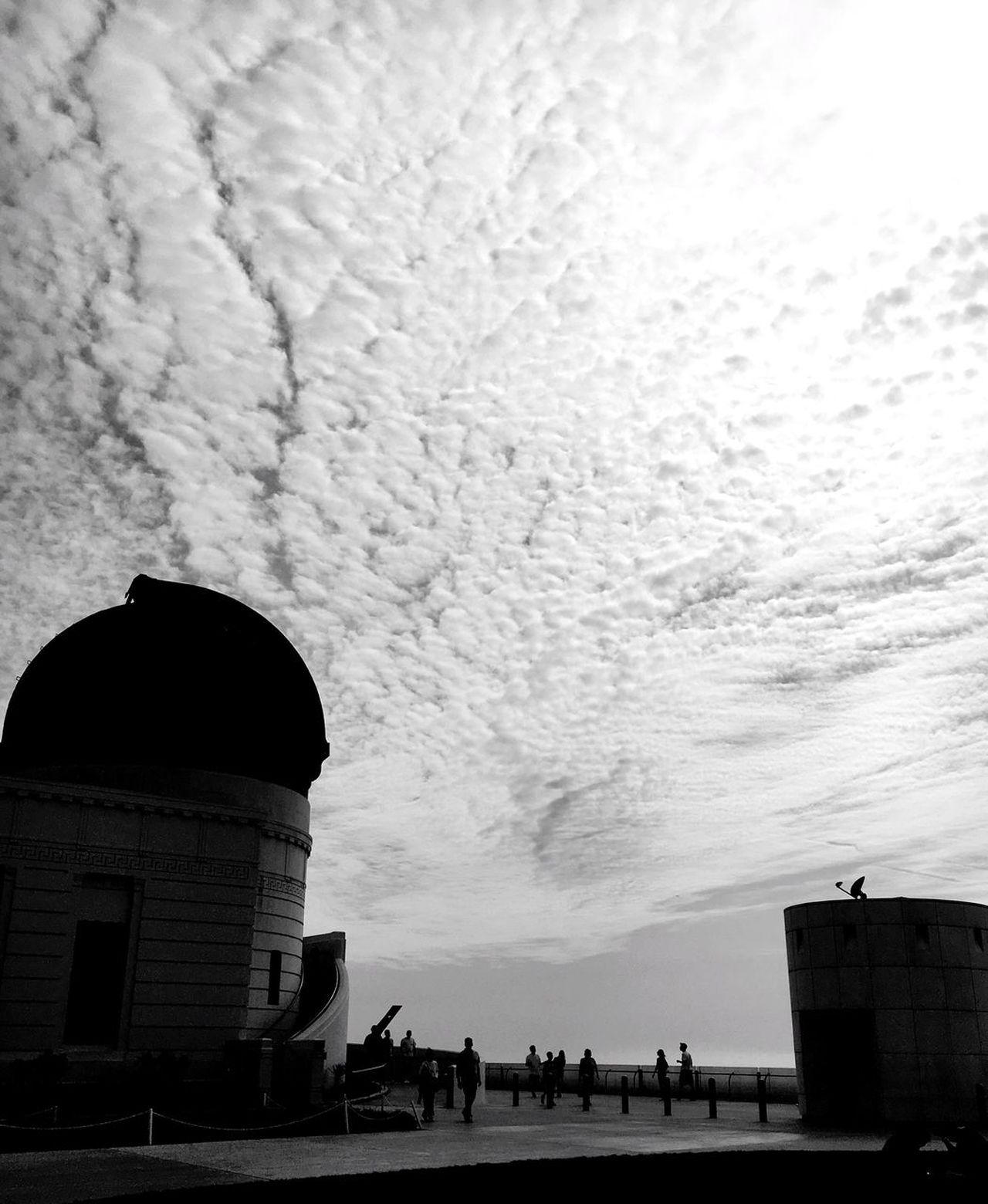 Architecture Building Exterior Built Structure Silhouette Dome City Sky Outdoors No People Place Of Worship Day Griffiths Observatory La La Land Iconic Landmark