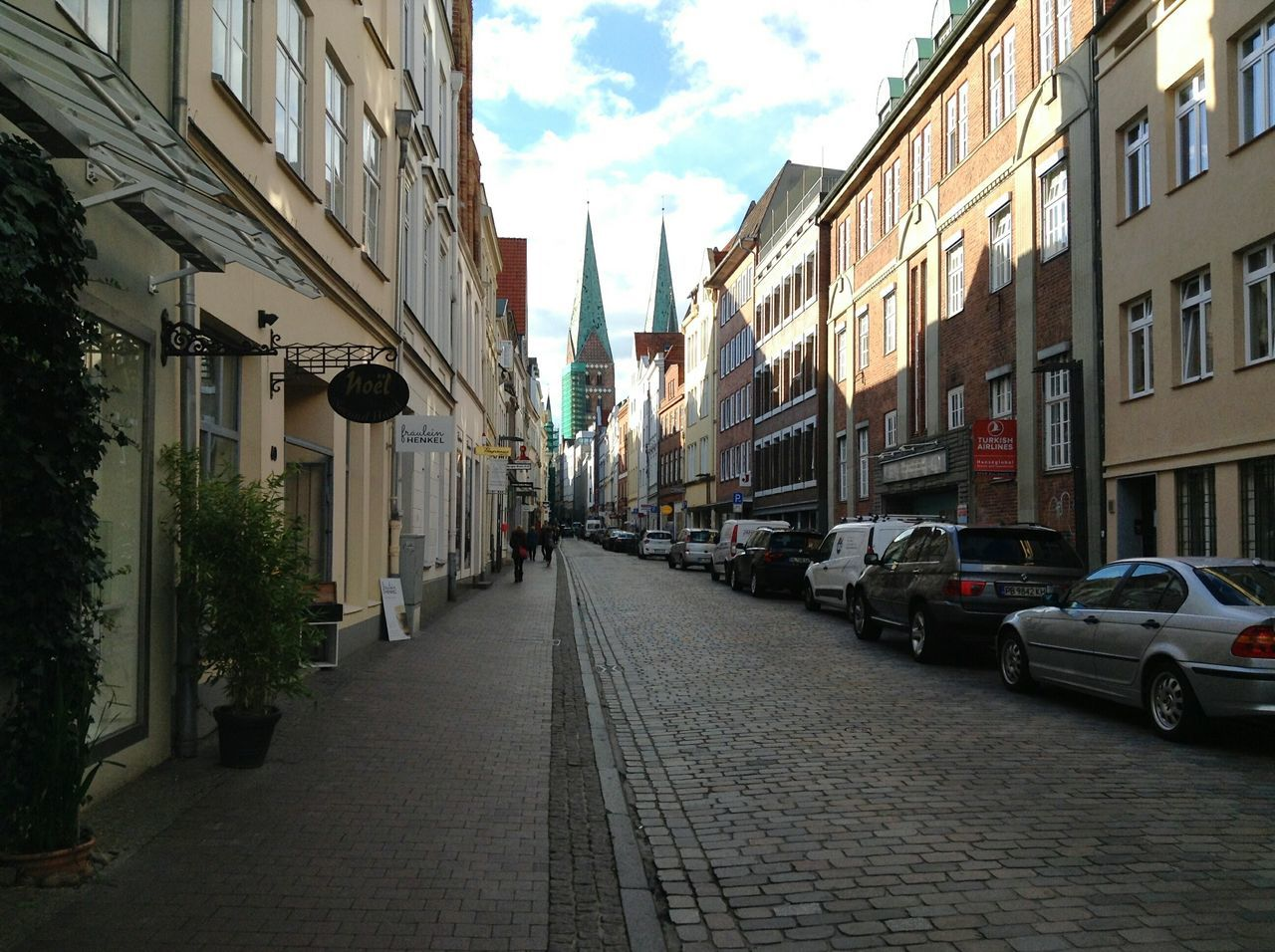 Streets of Lübeck. · Germany Schleswig-Holstein Hansestadt Lübeck Hl Hanseatic City Center Urban Landscape Architecture Street Down The Road  The Way Forward No People Beautiful Day