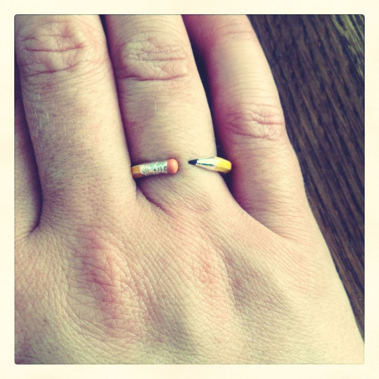 new pencil ring! Dalston Summer Salon  Hanging Out