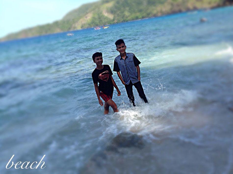 Beach Models Modeling Pulisanbeach Taking Photos