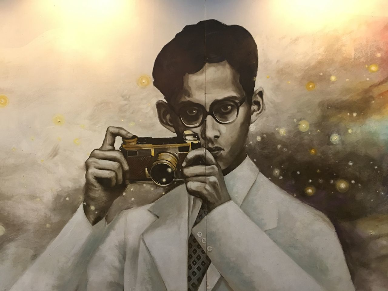 King King Rama 9 King Of Thailand Photography Painting