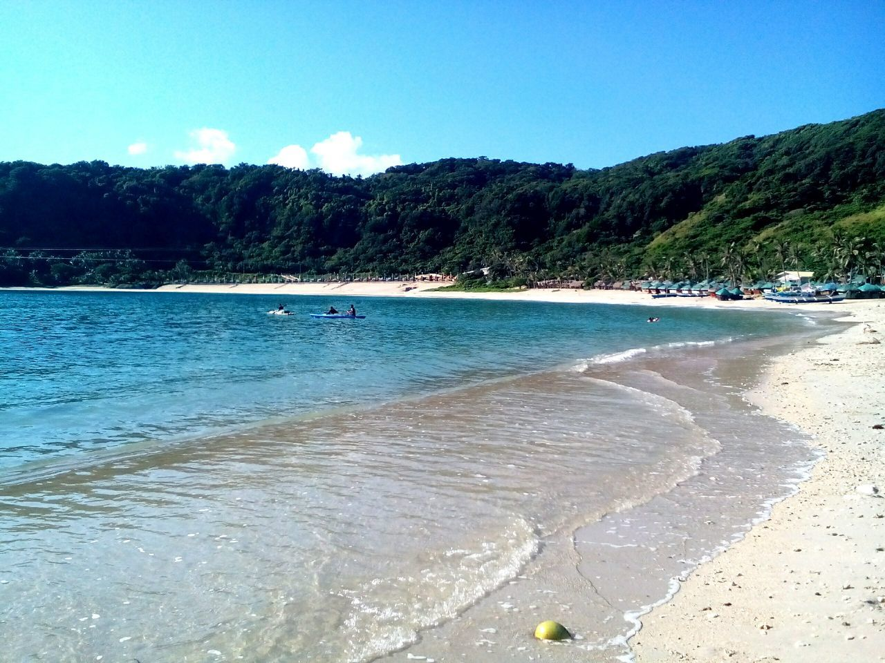 Beautiful Surroundings Beach Life Beachbum Sea Waves, Ocean, Nature TravelPhilippines Bluesky