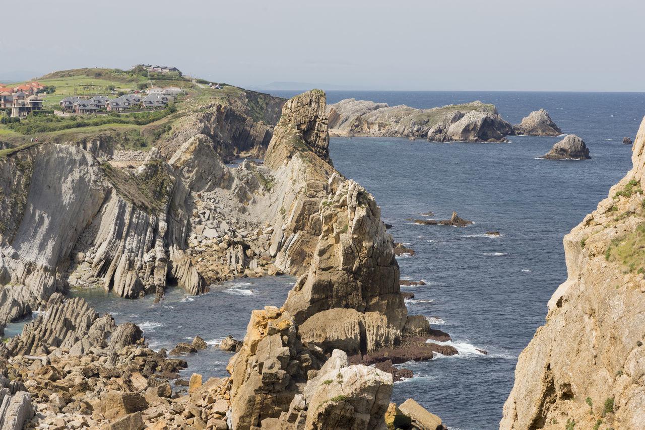 Arnia Arniabeach Blue Cantabria Coast Landscape Nature Ocean Sea Sky SPAIN Water