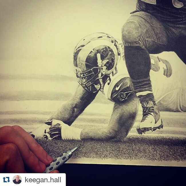 This may well be my new favourite Instagram account Repost @keegan.hall with @repostapp ・・・ My idea of a great Saturday night: staying home and drawing individual blades of grass... Lol! Actually I drew this on Sunday (took my wife out on Saturday night... Gotta play a little too!). It's crazy how long the grass takes. After a while my hand starts hurting because you have to be precise while pressing pretty hard with the pencil. Three hours of drawing grass so far. Yay! So much fun! 😝✏😬 Art Drawing @beastmode @seahawks Seattle Seahawks 12s