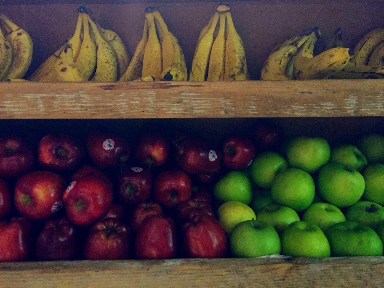 Healthy Eating Arrangement Food Banana Apples