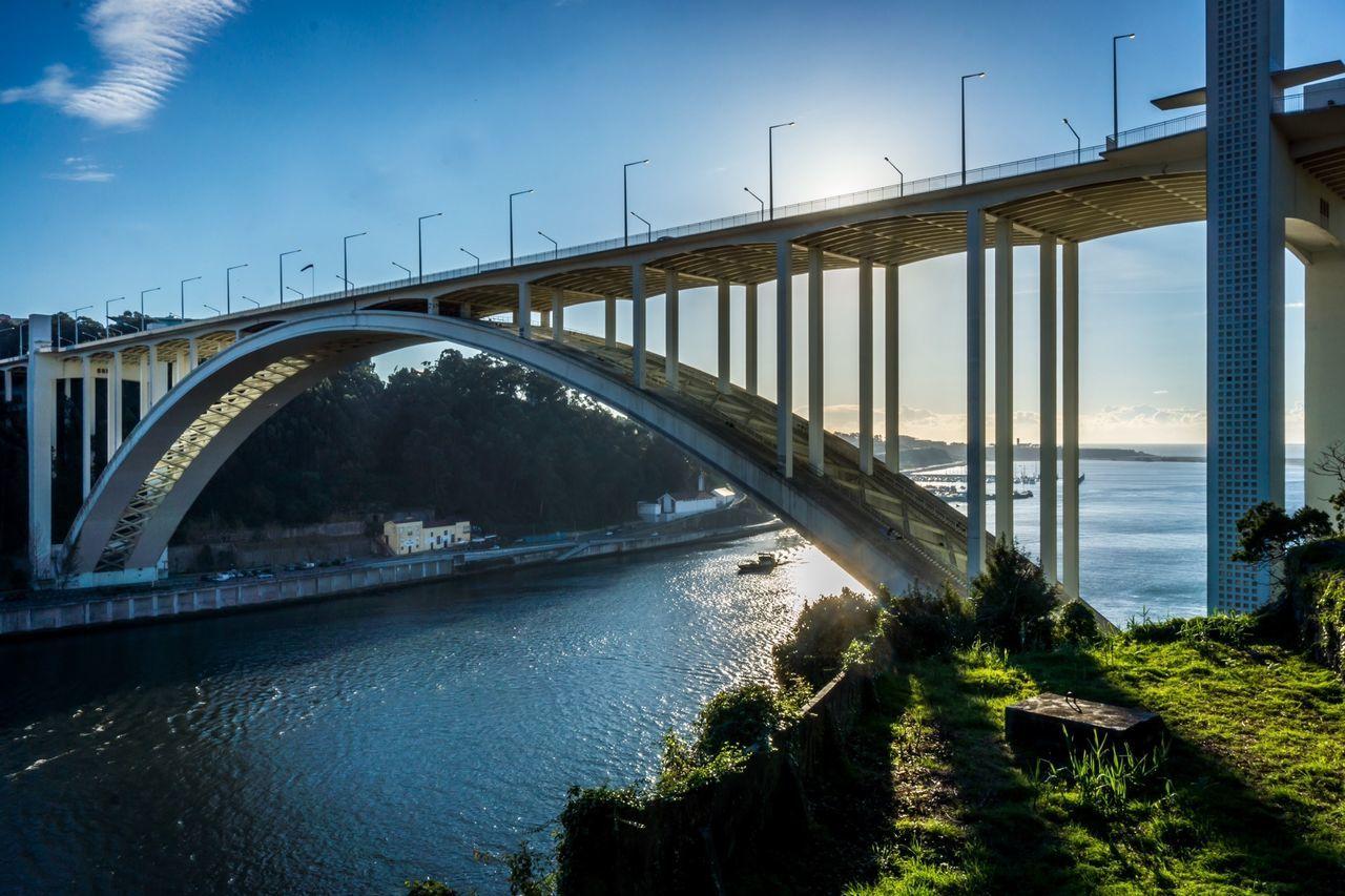 EyeEm Porto Water Reflections Bridge Clouds And Sky