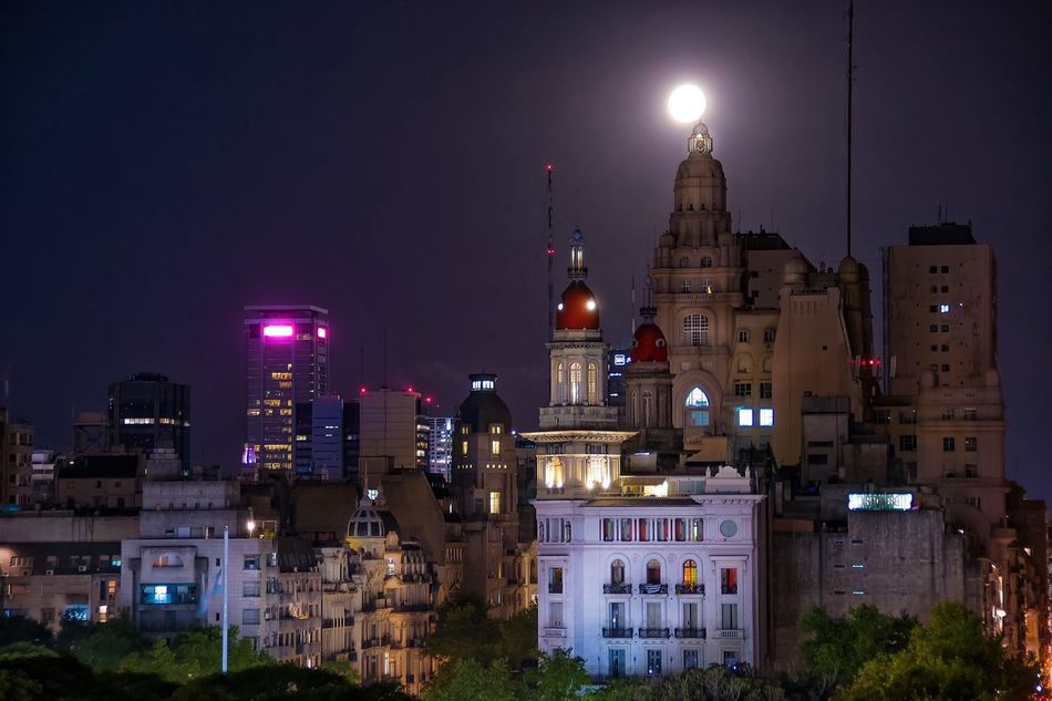 Beautiful stock photos of full moon, Architecture, Argentina, Beauty In Nature, Buenos Aires