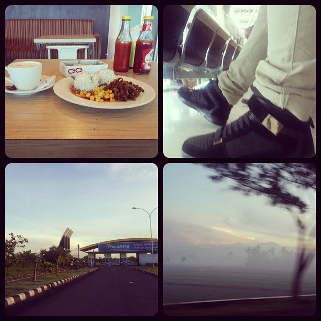 Morning flight... Good bye rinjani Gunungrinjani Lombok Gilitrawangan  Dantecafe airport bulgogi zara