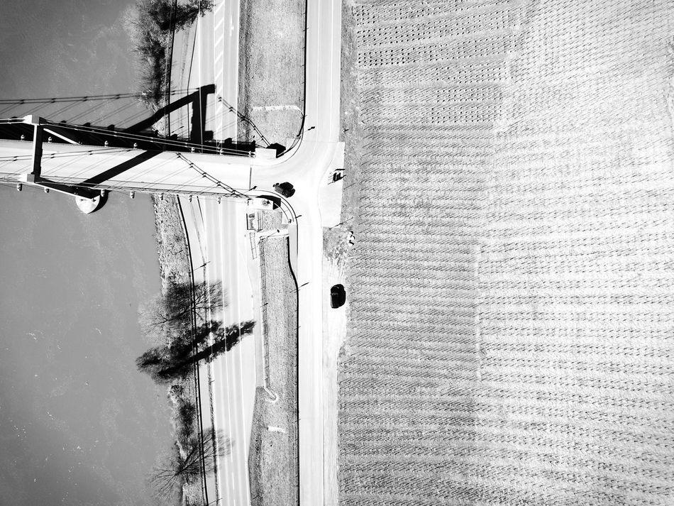 Mosel Fluss Bridge Vineyard Architecture