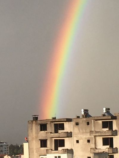 The Rainbow which arise from the old building First Eyeem Photo