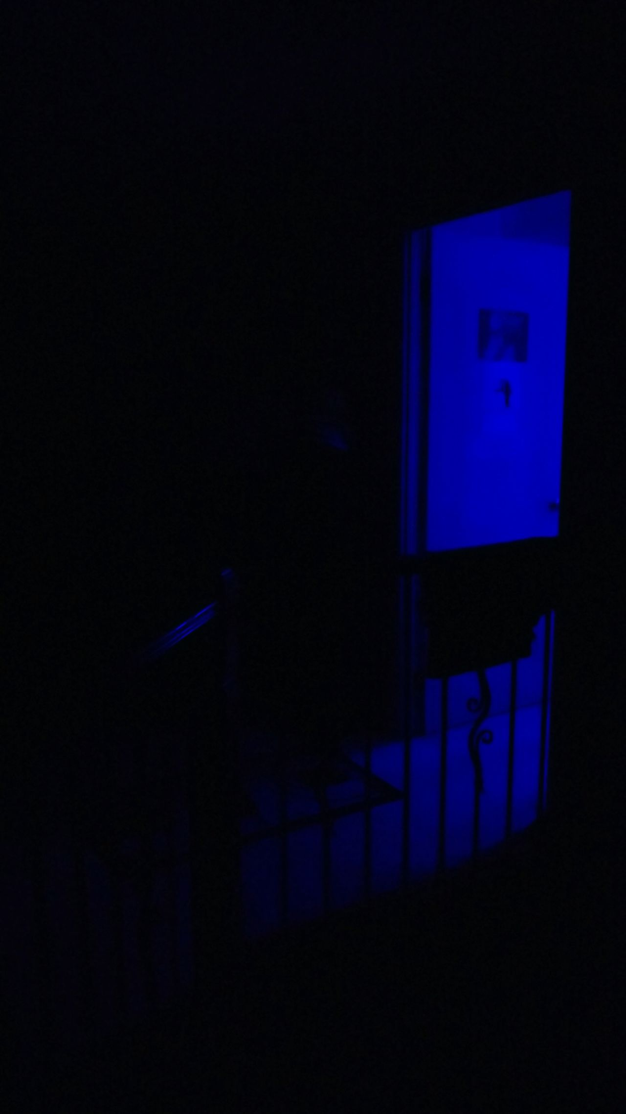 Home Alone Darkness And Light Time For Bed Blue Darkness