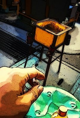 Smoking at yokohama by Tasuku