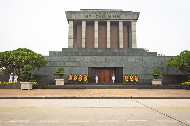 Ho Chi Minh Mausoleum, Hanoi Architecture ASIA Building Exterior City Communist Culture Flowers Hanoi History Ho Chi Minh Ho Chi Minh Mausoleum Horizontal Leader Mausoleum Monument Outdoors Politics And Government Sightseeing Tourism Tourist Attraction  Travel Travel Destinations Vacations Vietnam Vietnam Trip