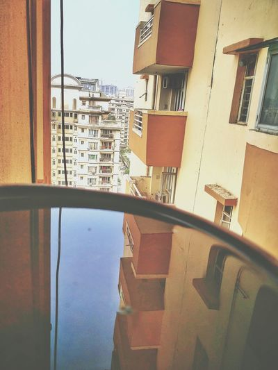 Window Architecture Building Exterior Built Structure City Outdoors Residential Building Apartment Reflection Water Reflections Water For Birds