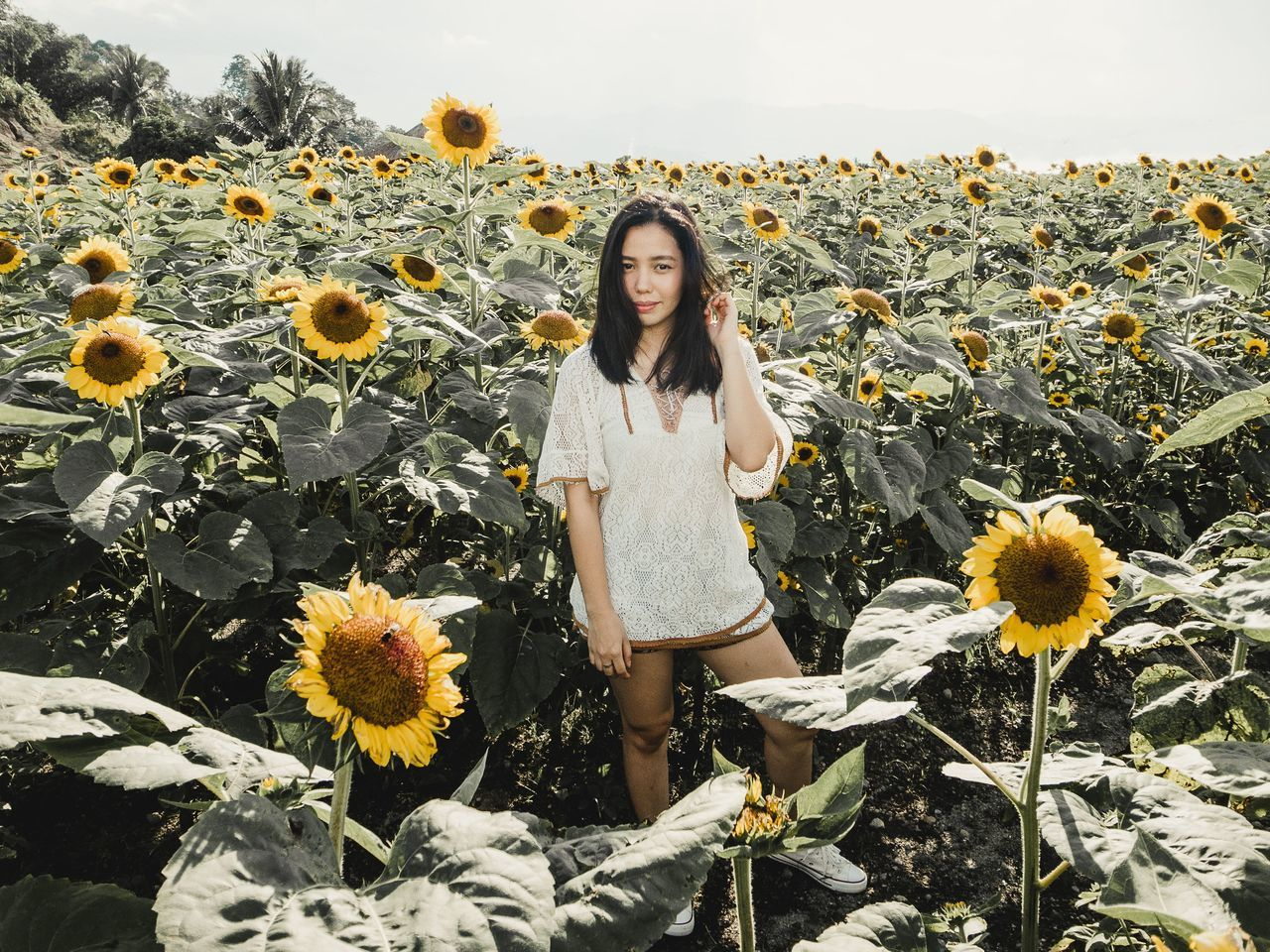 Art Asian  Beautifuk Eyeem Philippines Female Girl Love Outdoors Photography Portrait Ricoh Ricoh GRD III Sunflowers The Portraitist - 2017 EyeEm Awards The Week On EyeEm Woman