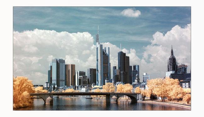 Canon400d Frankfurt Frankfurt Am Main Fun Infrared Infrared Photography Landscape Photoshop Skyline Travelling