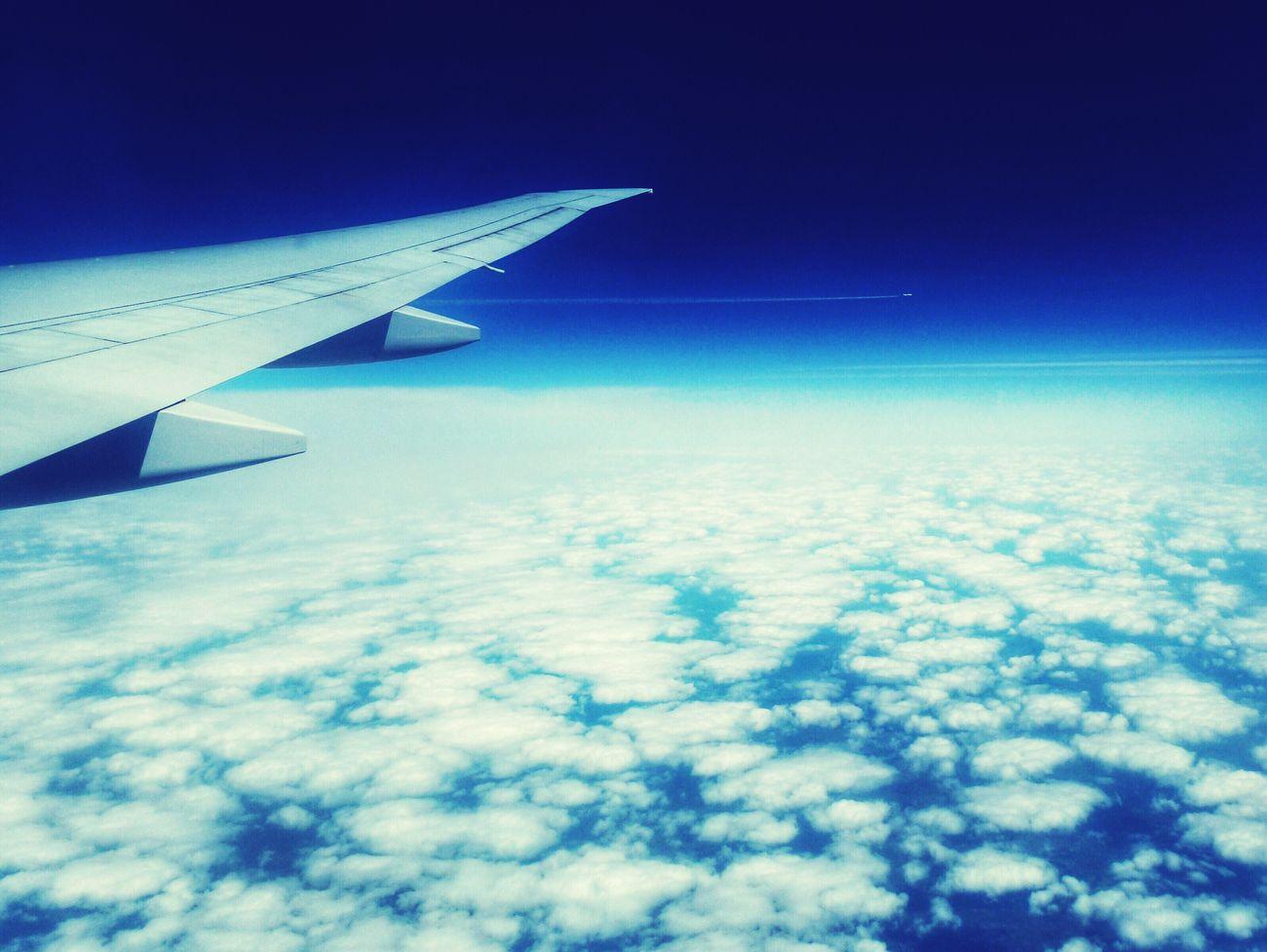 Emirates Sky Fly Slovakia Aeroplane Boeing 777 Blue Sky