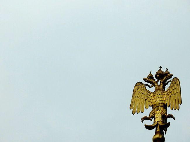 Blazon Two Headed Eagle Spas Na Krovi Sankt-peterburg Russia Golden Walking Around Architecture Streetphotography Fine Art Photography